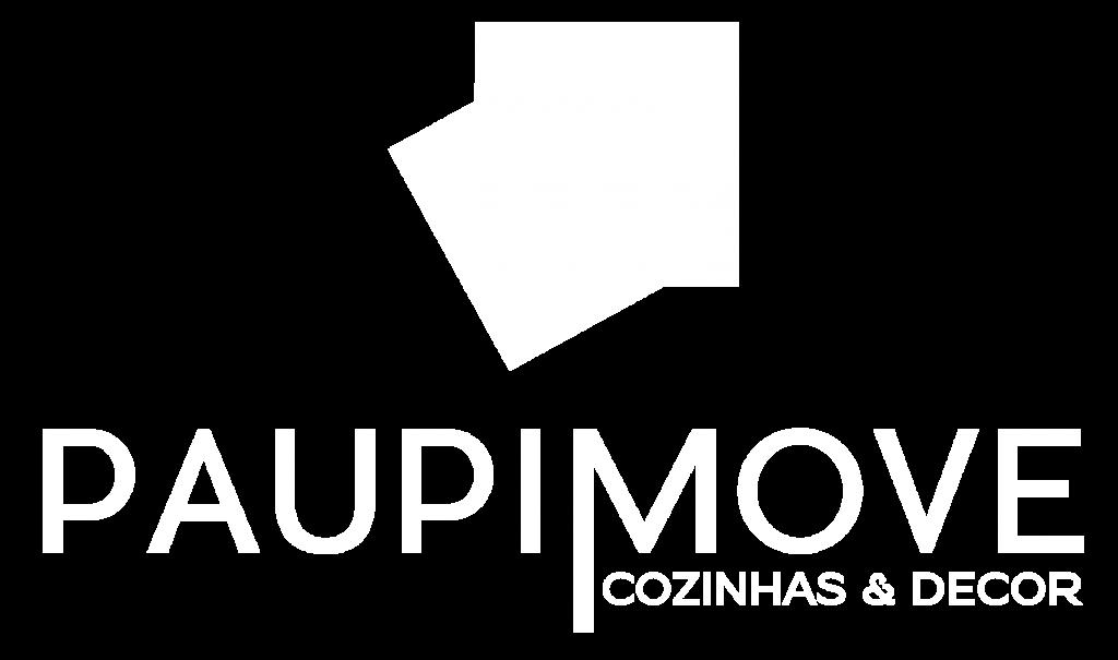 Logo Paupimove Branco White